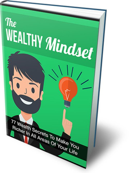 Product picture The Wealthy Mindset Comes with Master Resale